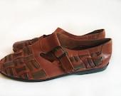 Southwest Leather Woven Sandal Unisex