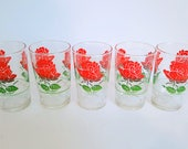 5 Magnifiques verres rét...