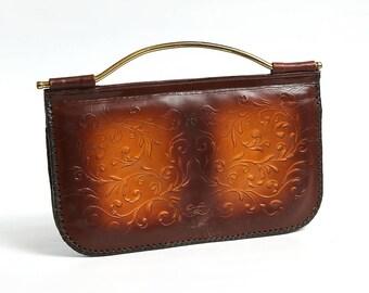 Vintage woman clutch, 70s Purse Bag, Woman Retro Purse, Handmade Shoulder Bag, Vintage handbag, messenger bag