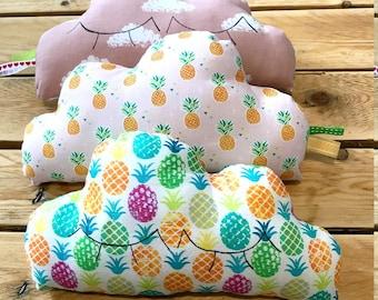 coussins nuages trio , coussins decoratifs,  décoration chambre enfant et bébé