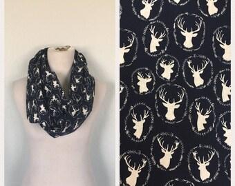 Deer antler scarf