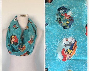 The little mermaid scarf