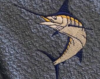 Fishing towel for salt water