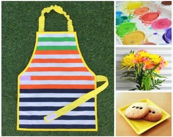 Montessori apron boy/girl 3 - 6 year