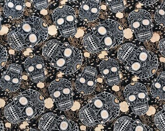 David textiles 'sculls black'