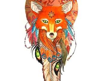 Sun Fox-Native American power animal