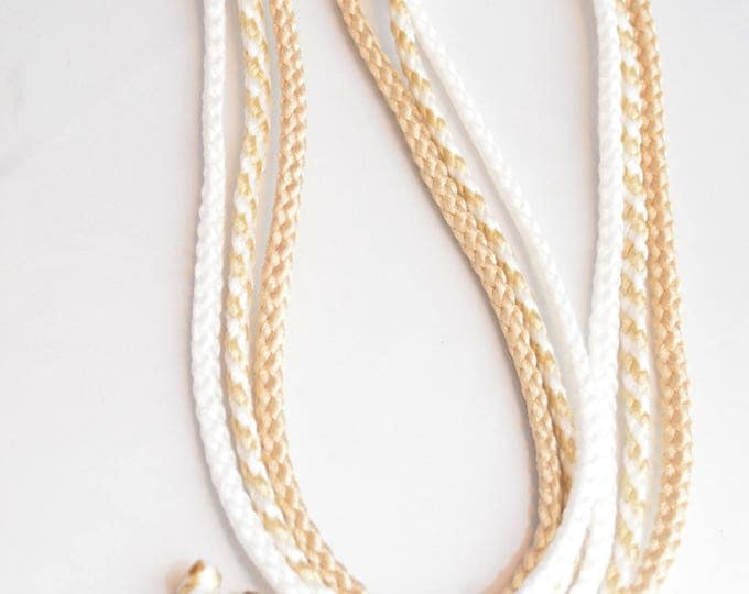 Featured listing image: A Cord Of Three Strands PICK Colors #DivinityBraid #CordOfThreeStrands #GodsDivinityBraid #UnityKnot #MarriageBraid #DivinityKnot #CordOf3