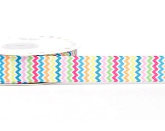 3 M Ruban 22 mm polyester zig zag multicolor