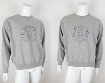 Vintage 1980s 90s Club Monaco Sweatshirt Size Large