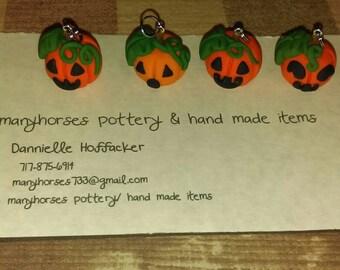 Jack O'Lantern pumpkins