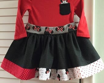 12-18mo Minnie Mouse Dress