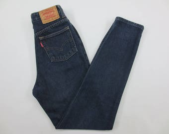 """Levi's Jeans Vintage Levis 626 High Waisted 22"""" Womens Jeans Made In Japan"""