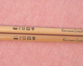 Discontinued Berol Karismacolor Medium Karisma Graphite Aquarelle Art Pencils Lot 2 Unsharpened Wood Pencil Drawing Sketching England EC BIN