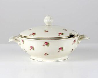 Bavaria soup tureen, porcelain soup bowl, soupiere, tureen with lid, porcelain tureen