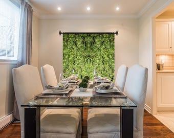 Marijuanna Art, Thai Skunk Cannabis Wall Art, Exotic Plant Art,Kaleidoscope Art Prints, Tropical Wall Art Fabric, Large Botanical Print