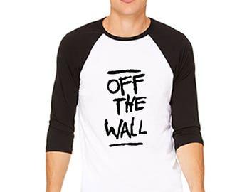 Off The Wallt Raglan T-Shirt 3200