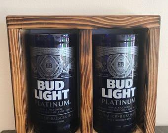 Bud light platinum tumbler gift set