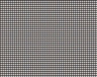 """1/8"""" Small Gingham Check in Black by Riley Blake Designs - 1/2 Yard"""