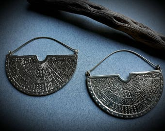 earrings *Tribu* in brass