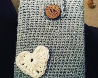 Crocheted Kindle Paperwhite Sleeve