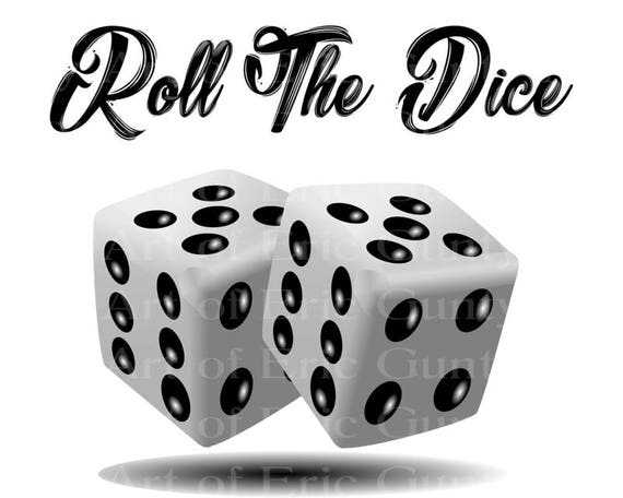 Casino Las Vegas Roll the Dice Birthday Party - Edible Cake and Cupcake Topper For Birthday's and Parties! - D22906