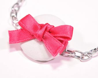 Charm's button pink