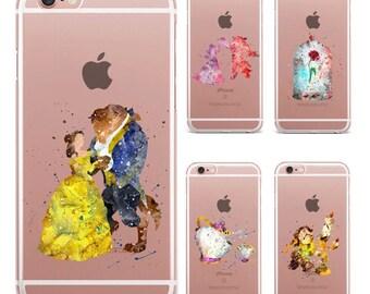 coque iphone x la belle et la bete