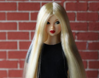 DISCOUNT Blond Wig for J-doll, Momoko, Obitsu 3.5-4 inch