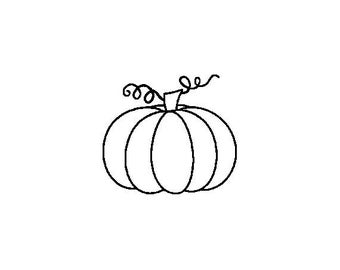 "Small Pumpkin Stamp, card stamp, gift tags stamp, label stamp, stationary stamp, halloween stamp, festive stamp, 0.75"" x 0.7"" (minis78)"
