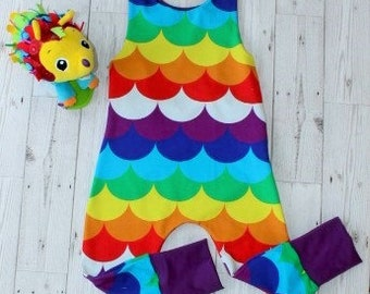 Rompers....Rainbow Waves