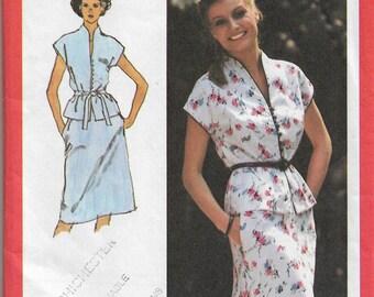 """Sewing pattern - dress pattern -  UK Size 12 Bust 34""""   sewing pattern for dress - vintage sewing pattern - 1960s shift dress pattern"""