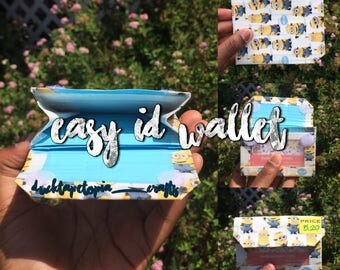 Minions Duct Tape Easy ID Wallet