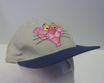 90s Pink Panther hat cap snapback cartoon
