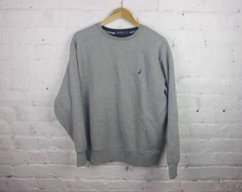 Nautica Crewneck 90s sweatshirt long sleeve shirt