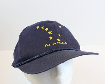 Alaska Star Hat cap snapback vintage
