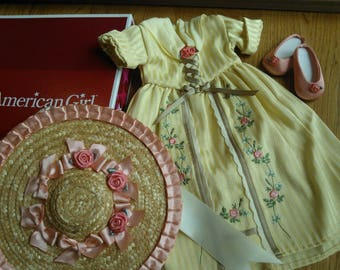 American Girl Felicity's Tea Lesson Gown...Felicity's 1st Release...New in Original Box...Perfect for Gift Giving...Mint Condition...Retired