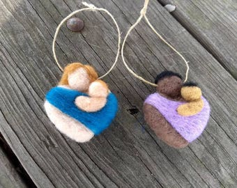 Custom Mother and Child Ornament