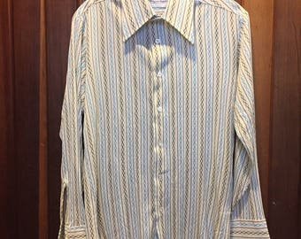 1970s // MY THREE SONS // Vintage Career Club Belgrave Square Button Down