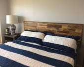 Wall Mount Headboards from Reclaimed Barn Wood - Free Shipping