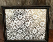 8x10 Black Distressed Frame