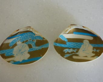 Japanese Kai-awase Clam Shells