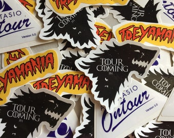 Phish 10 Pack of Stickers; Free Shipping / Tour is Coming / Treyamania / On tour