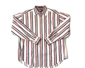 40% OFF Vintage Striped Sailor Tommy Hilfiger Blouse