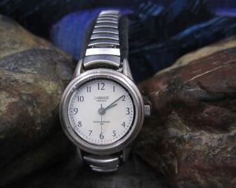 Carriage by Timex Indiglo Ladies Stretch Wrist Watch