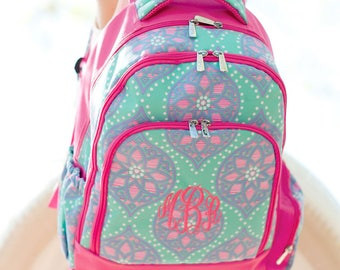 Wholesale Boutique Marlee Collection Backpack, Book Sack, Book Bag Monogrammed For Back to School