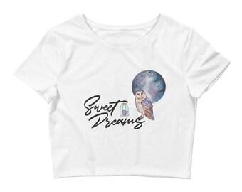 Sweet Dreams Crop Tee