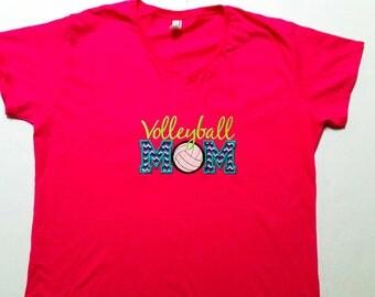 Volleyball Shirt - Volleyball Gifts - Mom Shirt - Sports Mom - Volleyball Mom - Volleyball Apparel - Team Mom Shirt - Spirit Shirt