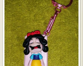 Keychain featuring snow white
