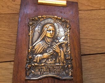 French Icon plaque