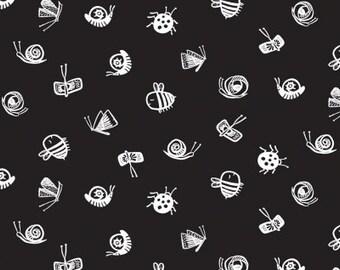 Harvest Moon - Bugs Black - Wee Gallery - Dear Stella (Stella-WG994)